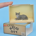 XZ561 Cat by Heidi Ott For dollhouse miniatures 1:12 scale