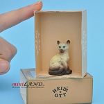 XZ571 Cat by Heidi Ott For dollhouse miniatures 1:12 scale