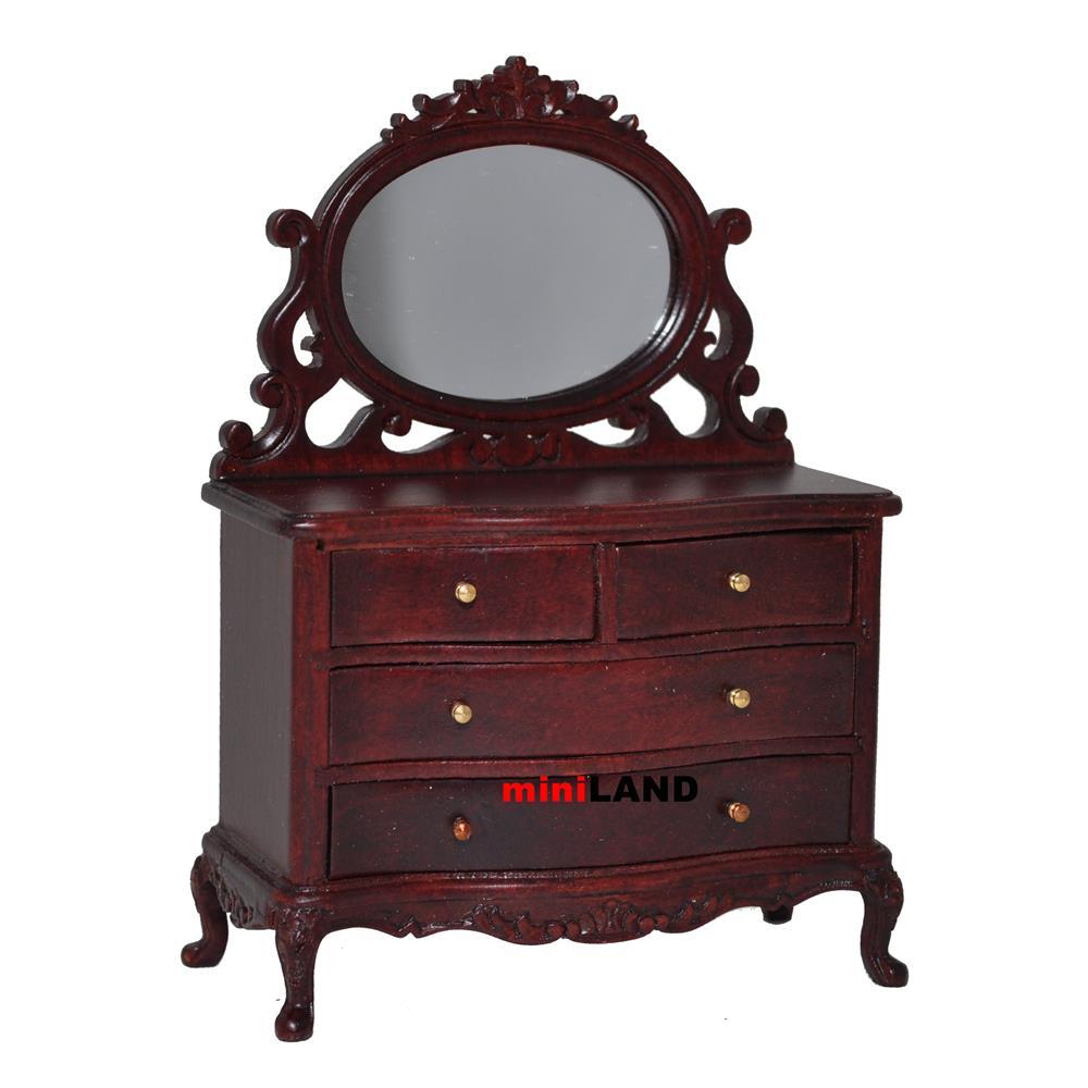 Vanity Table Dresser Bedroom 1 12 Dollhouse Miniature