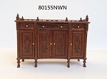 Fine Quality Buffet Table WN  1:12 scale