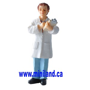 Doctor - Resin Doll for Dollhouses Doctor