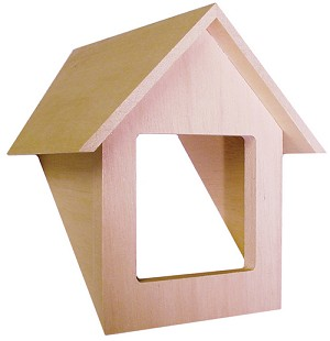 Dormer Unit Traditional for 1:12 Dollhouse miniature
