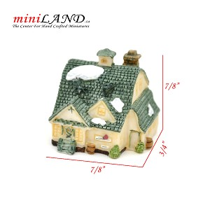 Micro house building for Dollhouse miniature 005