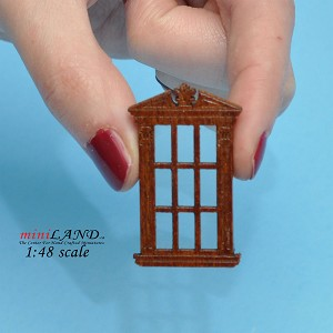 "1:48 1/4"" quarter scale single window WN with Plexiglass"