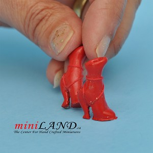 Shoes for dollhouse miniature display #03