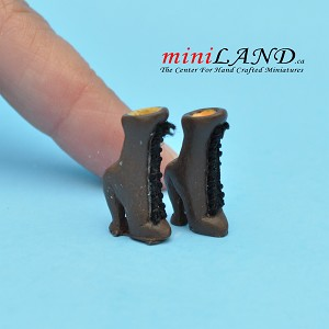 Shoes for dollhouse miniature display #04