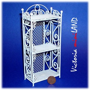 Wire Book Shelf TMIL1002 for 1:12 dollhouse miniature