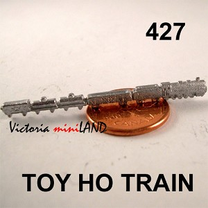"TOY HO TRAIN 2"" Long DIY metal miniature for dollhouse - Do it yourself"