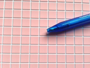Pink Tile Flooring for your Dollhouse 1:12 scale